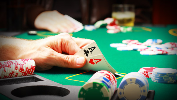 People start playing online poker just for fun