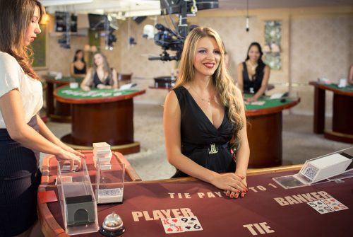 Online facility in playing casino games