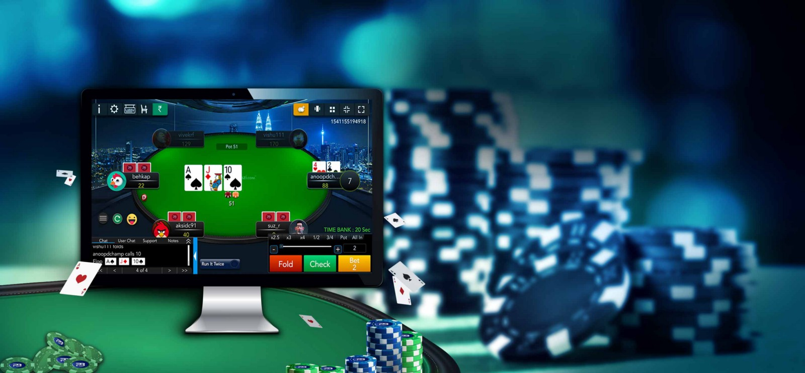 What You Should Know While Playing Poker Online